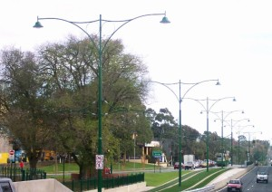 Tram line extension